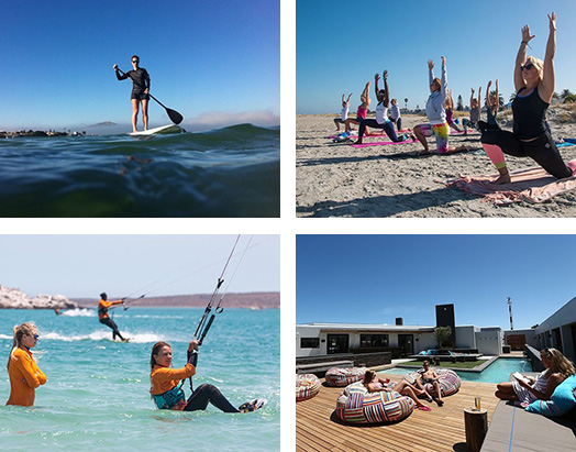 SUP yoga kite week Windtown South Africa